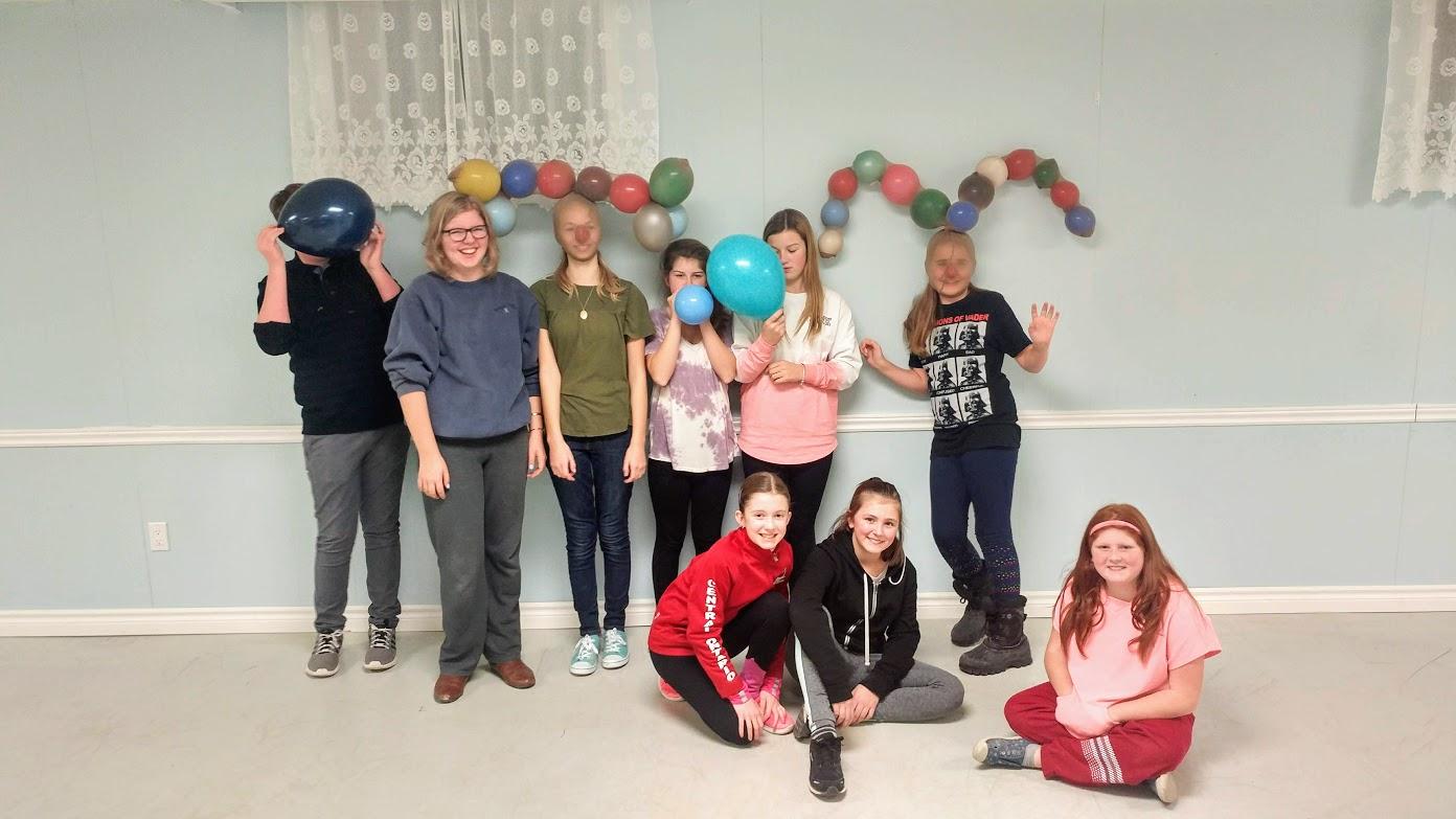Youth Group Trinity United Church Beeton